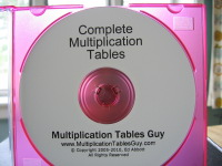 Complete Multiplication Tables Audio Learning CD