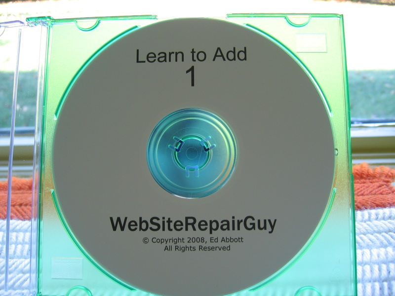 Learn to Add 1 audio learning CD