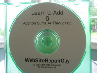 Learn to Add 6 Audio Learning CD