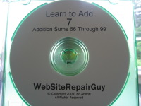 Learn to Add 7 Audio Learning CD
