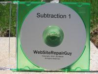 Subtraction 1 Audio Learning CD